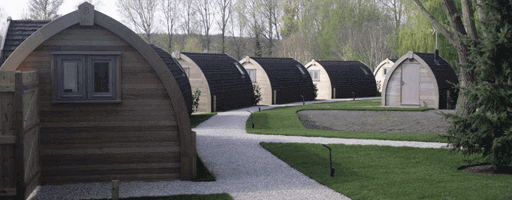 camping holiday pod manufacturer uk