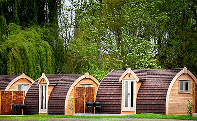 roi camping pods